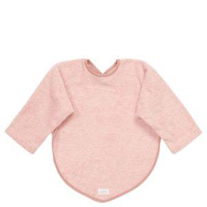 """koeka Lätzchen mit Ärmeln Dijon """"shadow pink"""", Bio-Baumwolle"""
