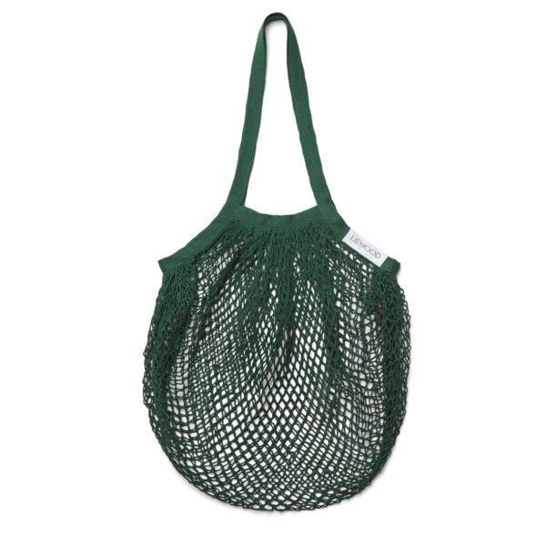 """Liewood Nuka Mesh Einkaufsnetz """"Garden green"""", groß, 65x40cm"""