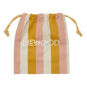 """Liewood Stoffbeutel """"Peach:sandy:yellow mellow"""" XS (27x23cm) Geschenkverpackung"""