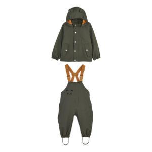"Liewood Dakota Regenbekleidung ""Hunter green"" 1-3 Jahre 01"