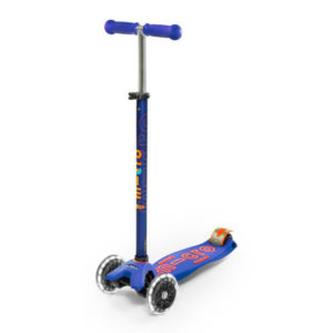 """Micro Mobility maxi micro deluxe LED """"blue"""" 03"""