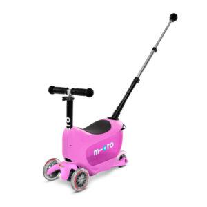 "Micro Mobility mini2go deluxe plus ""pink"" 01"