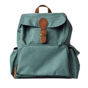 Sebra Mini Rucksack, spruce green, recycelt 01