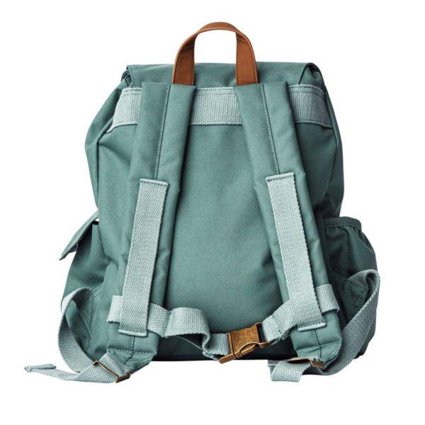 Sebra Mini Rucksack, spruce green, recycelt 02