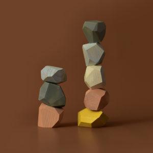 """BSP9 MinMin Copenhagen """"Balancing Stones - Pastel"""" 01"""