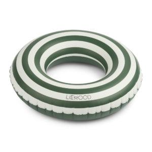 "Liewood Baloo Schwimmring ""Garden green : creme"" 01"