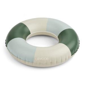 """Liewood Baloo Schwimmring """"Garden green : sandy : dove blue"""""""