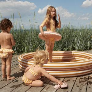 "Liewood Savannah Pool : Planschbecken ""Mustard : Creme"" Mood"