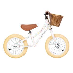 """Banwood Kinder Laufrad First Go x Marest """"Allegra Weiß"""" 01"""