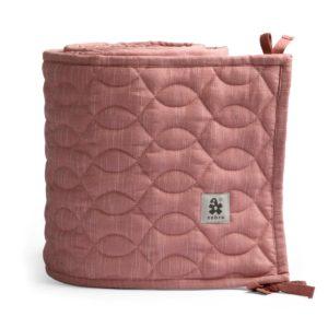 "Sebra Bettnestchen abgesteppt ""blossom pink"", 360cm"