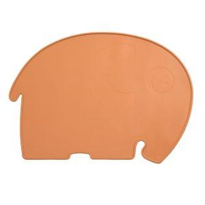 "Sebra Silikon Platzdeckchen, Fanto der Elefant, ""Toasted Orange"" 01"