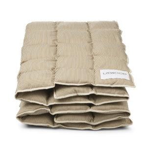 "Liewood Jalle Juniorbettdecke ""Sandy / oat"", Bio-Kapok, 100x140cm"