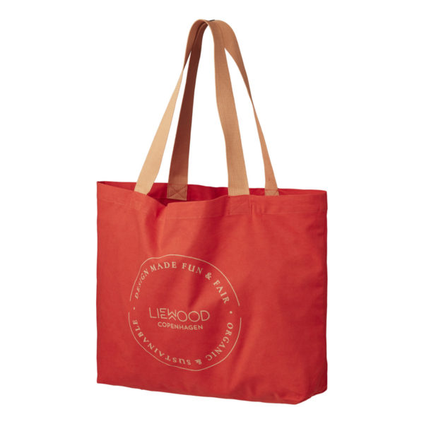 """Liewood Tote Stofftasche """"Apple red"""""""